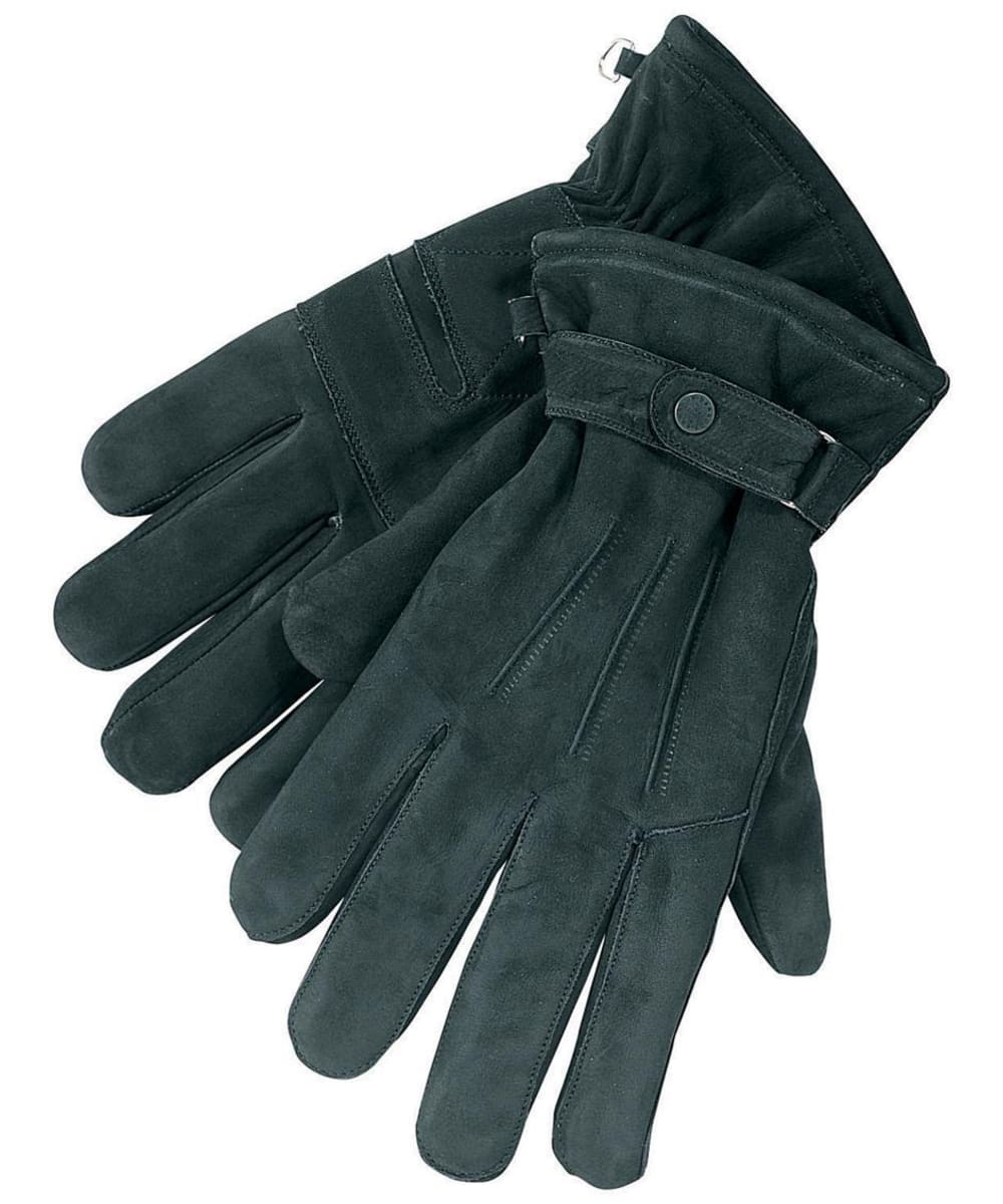 7b5d8084388 Men s Barbour Leather Thinsulate Gloves - Black