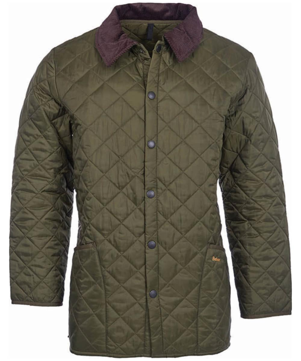 e8d402333b48f ... Men's Barbour Liddesdale Jacket - Olive ...