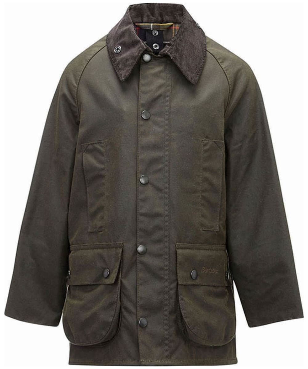 Boy S Barbour Classic Beaufort Waxed Jacket 2 9yrs