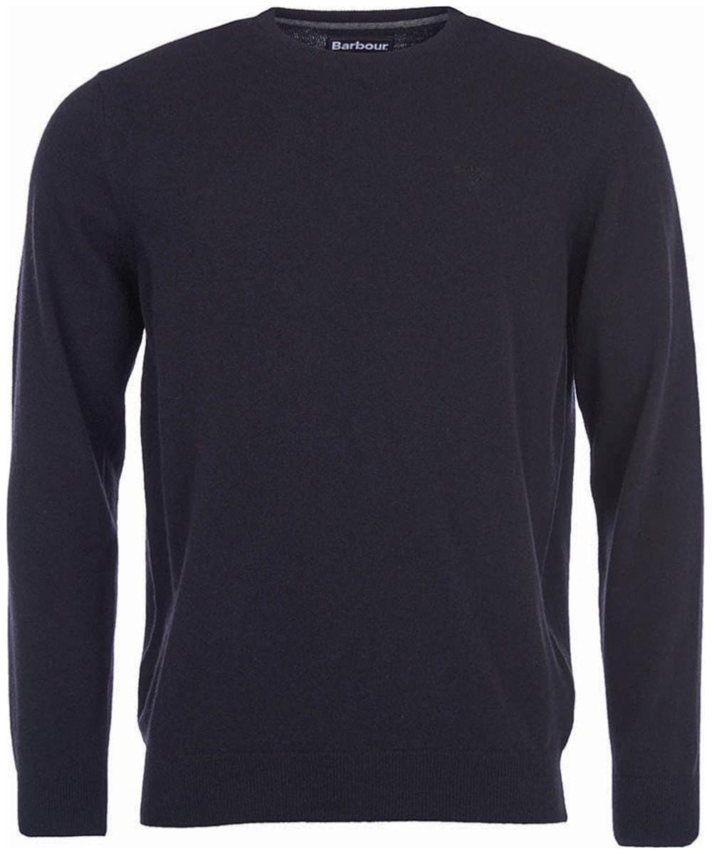 select for original choose original select for authentic Men's Barbour Essential Lambswool Crew Neck Sweater