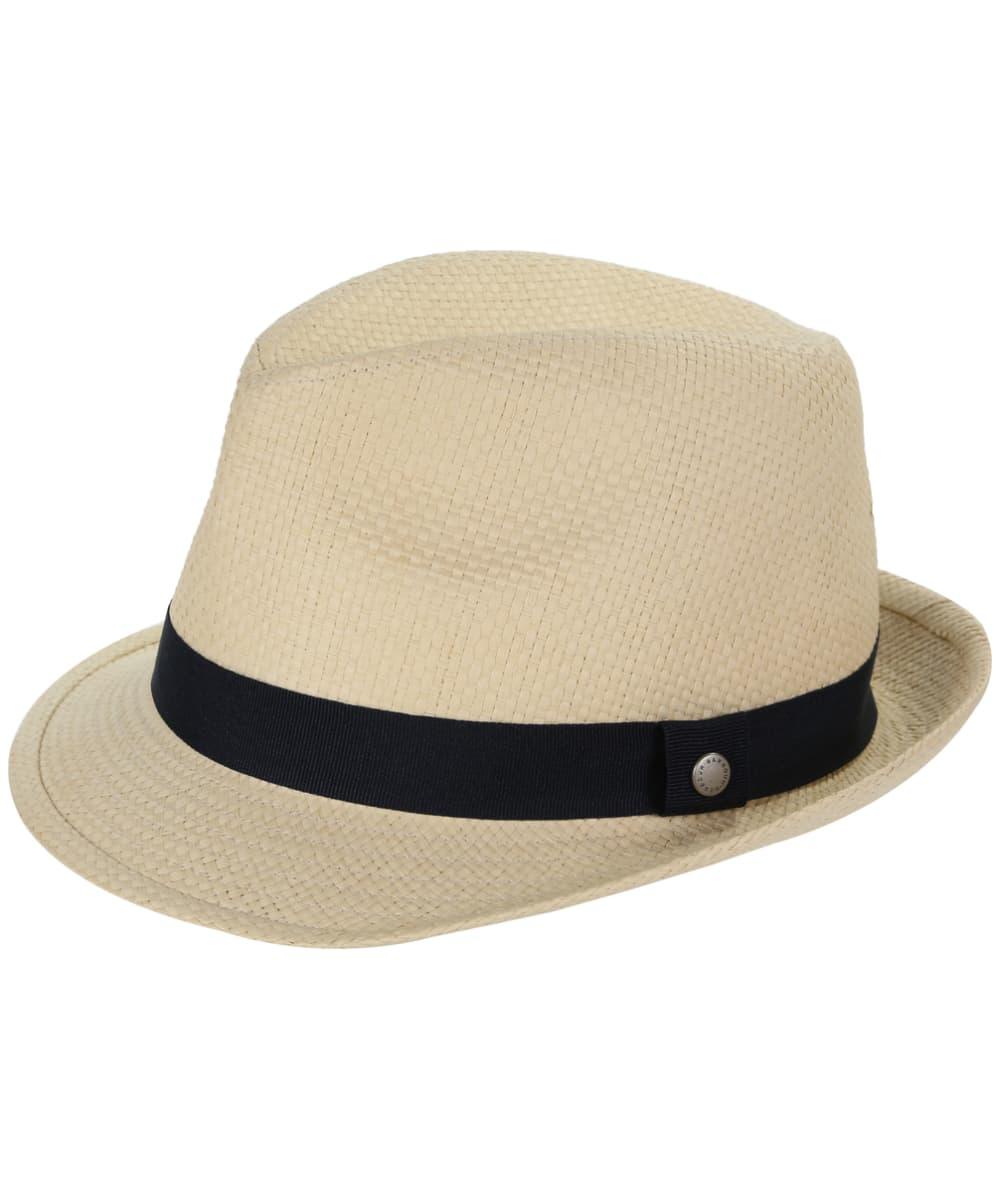 Men s Barbour Emblem Trilby Hat - Natural cb31fc127ee