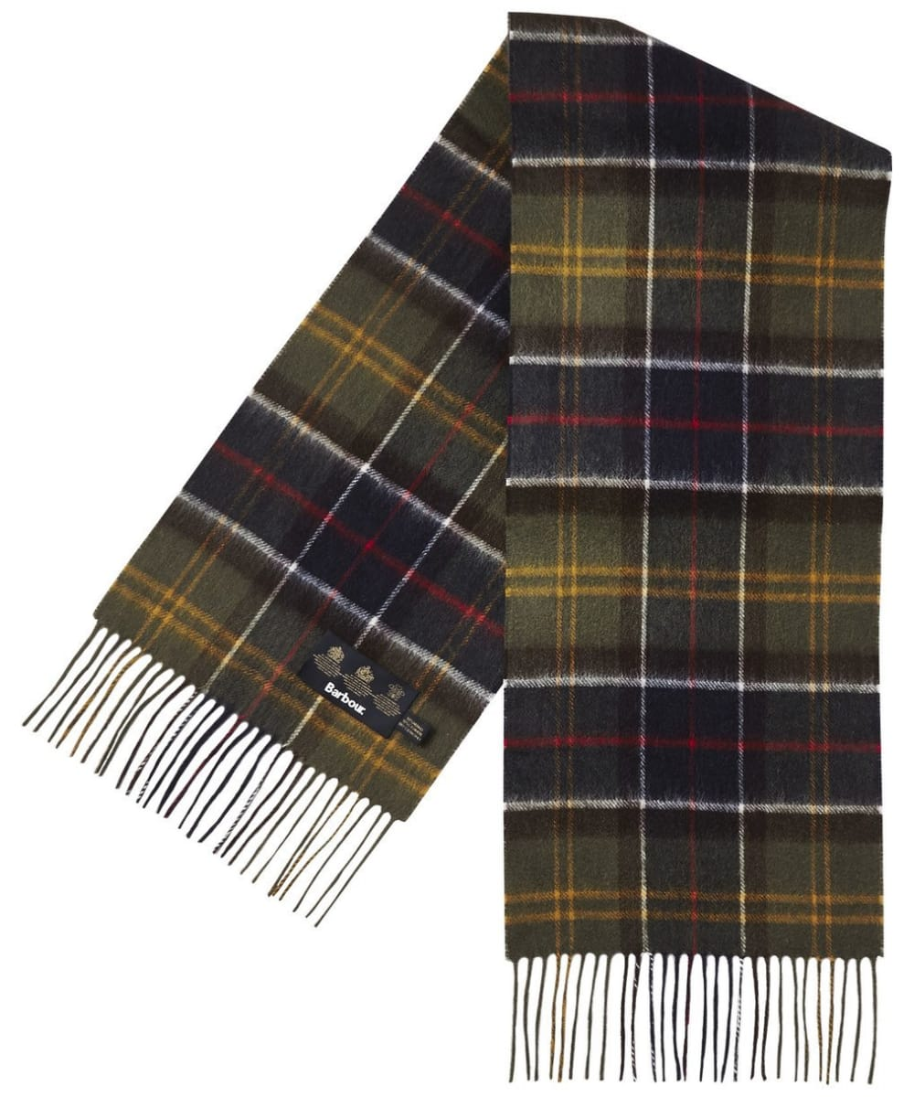 65aef1cea7751 ... Barbour Tartan Merino Cashmere Wool Scarf - Classic Tartan ...