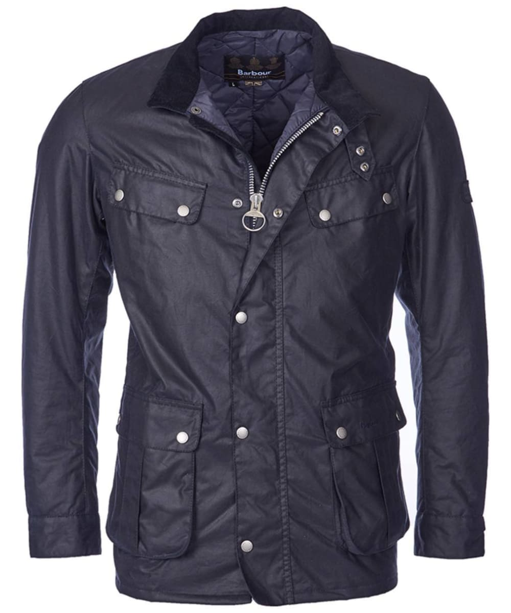 Men S Barbour International Duke Wax Jacket