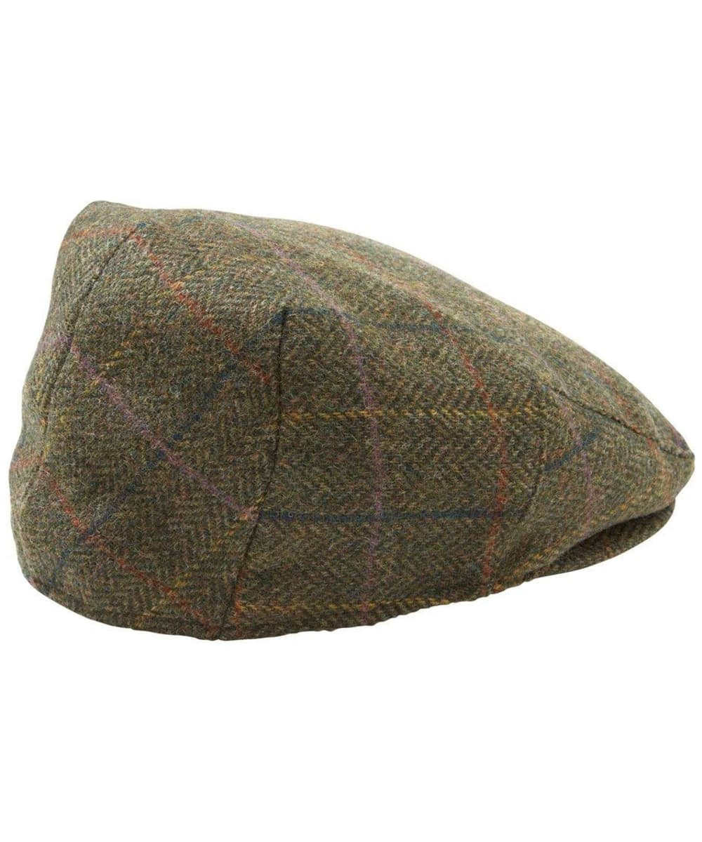 ... Barbour Moons Tweed Cap - Olive Herringbone ... d63c1f1d1b3
