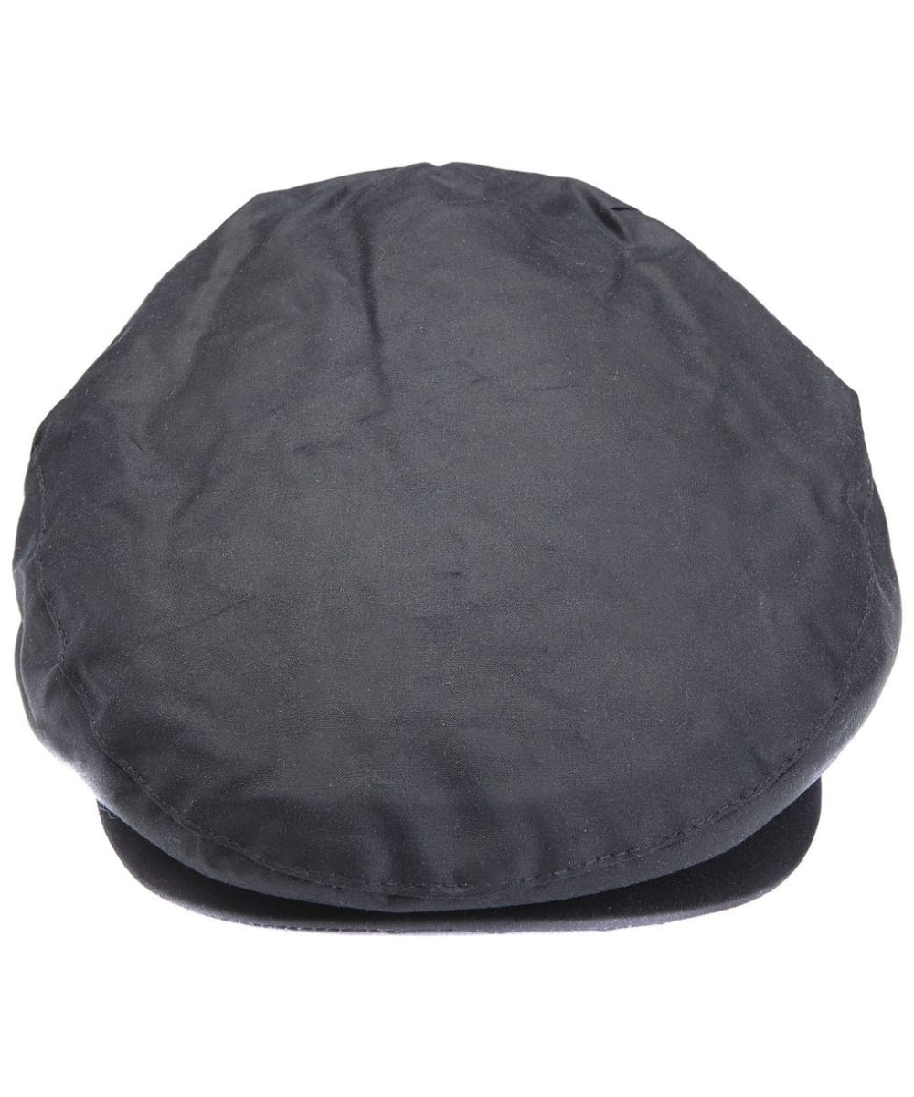 457638077d566 ... Men s Barbour Waxed Flat Cap - Navy ...