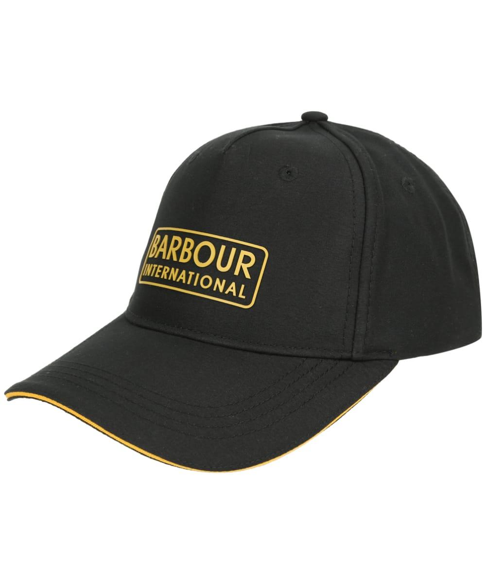 cc3a25f5818a1 Men's Barbour Hudson Sports Cap - Black / Yellow