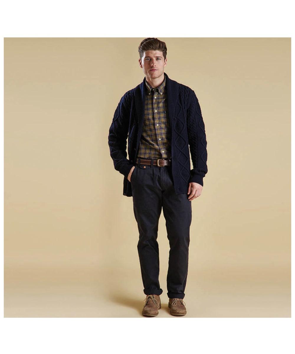 62daadb3f3e ... Men's Barbour Malcolm Tailored Shirt - Classic Tartan ...