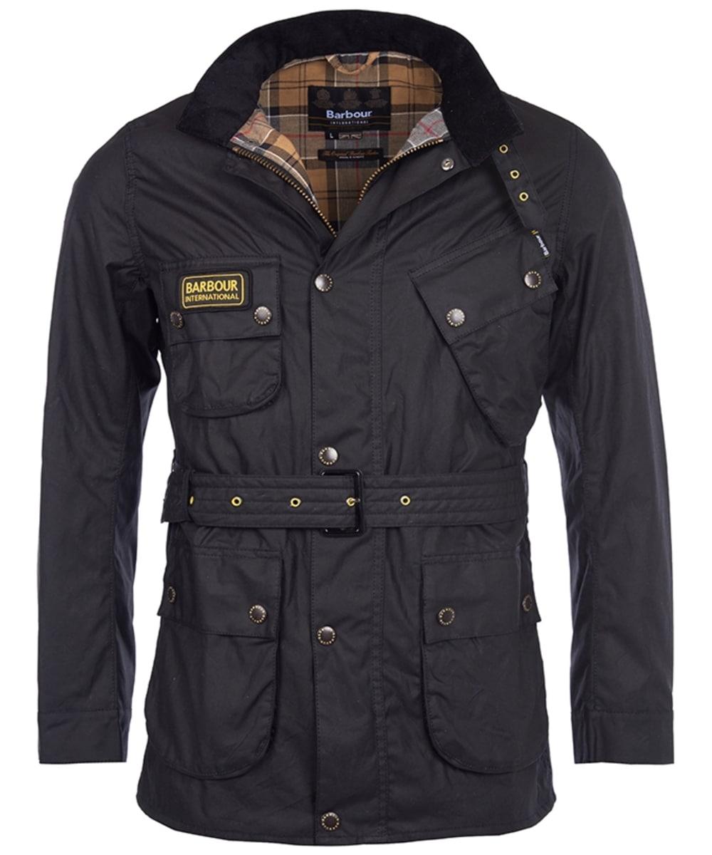 Men S Barbour International Slim International Wax Jacket