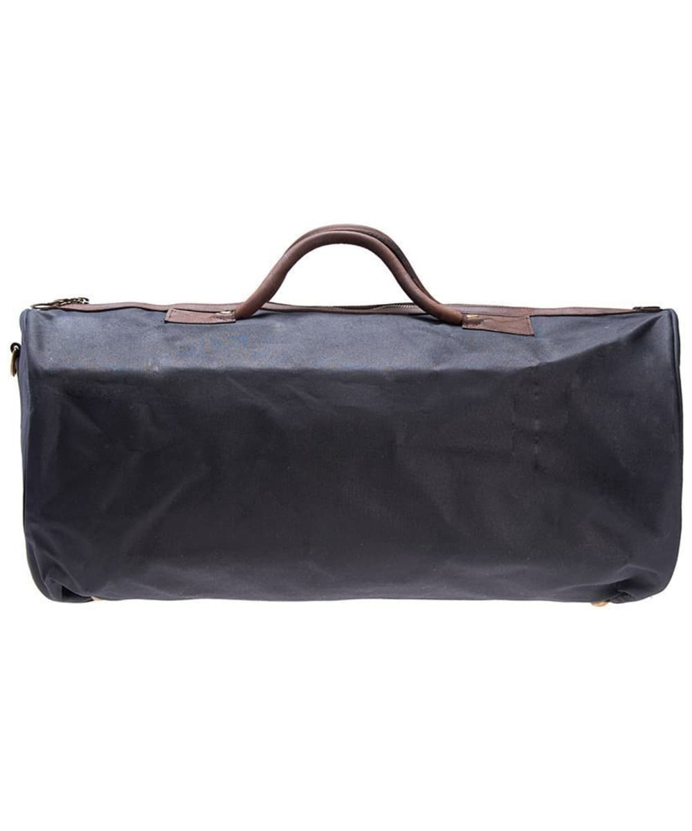 4efc357b6 ... Barbour Waxed Cotton Holdall Bag - Navy ...