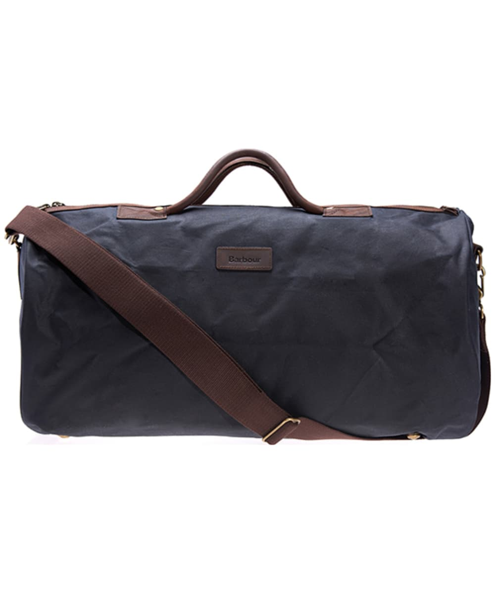 Barbour Waxed Cotton Holdall Bag - Navy 75fed9d7d