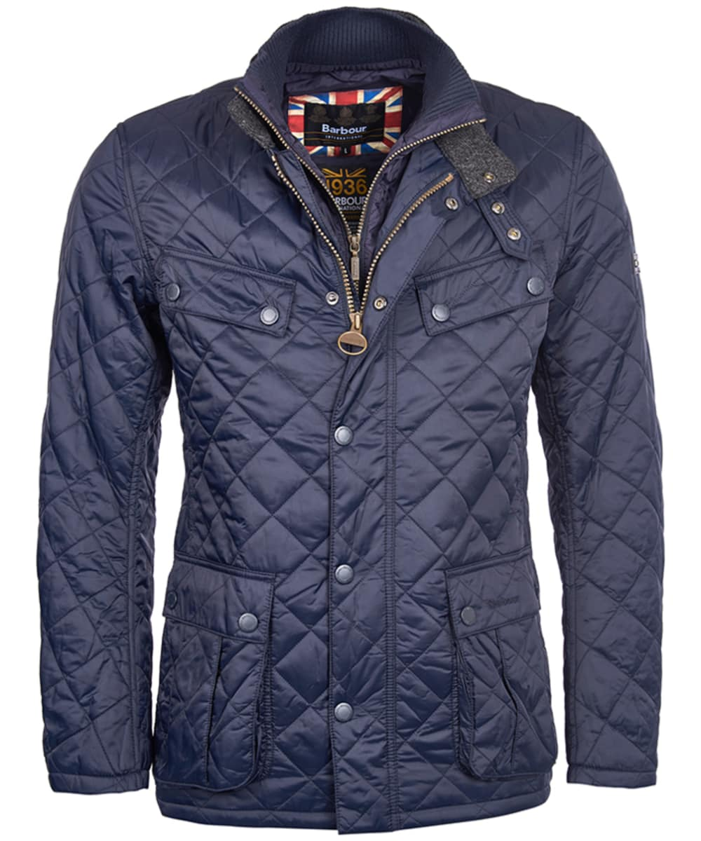 barbour international quilted jackets