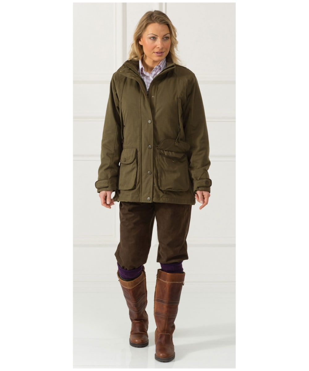 bece3080b7188 ... Women's Alan Paine Dunswell Waterproof Coat - Olive ...