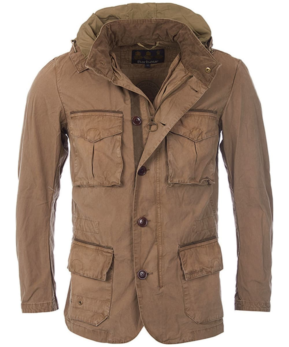 db31aab2234 Men s Barbour Solant Tailored Jacket - Military Brown
