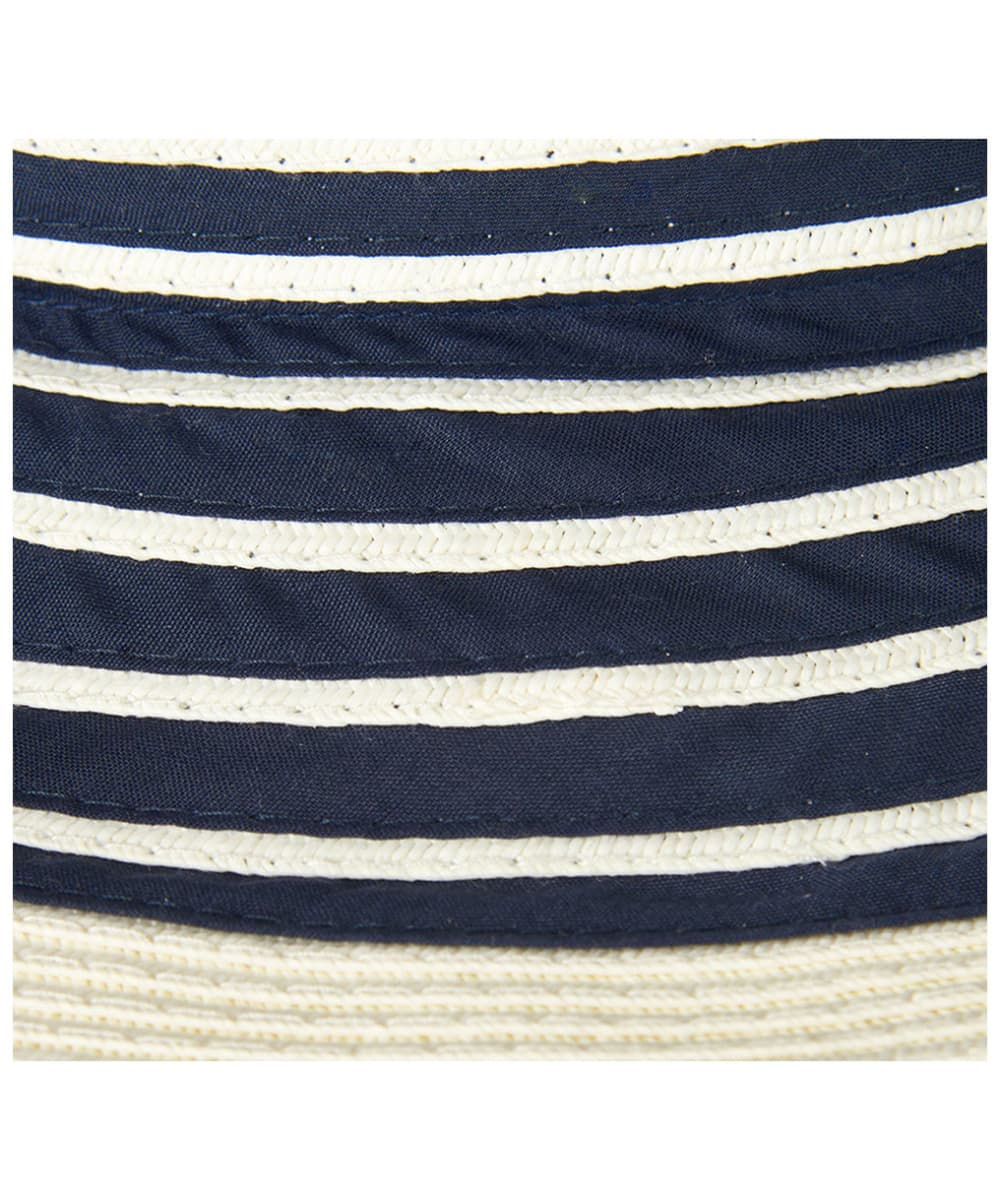 95c05197e52 ... Women s Barbour Sealand Sun Hat - Navy Stripe