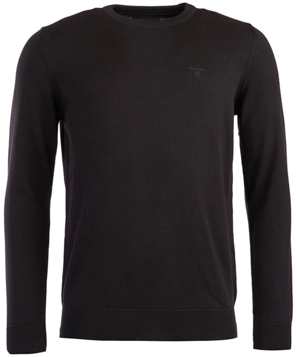 Men/'s Crew//Round Neck Sweatshirt Jumper Long Sleeve Plain Black Blue Grey