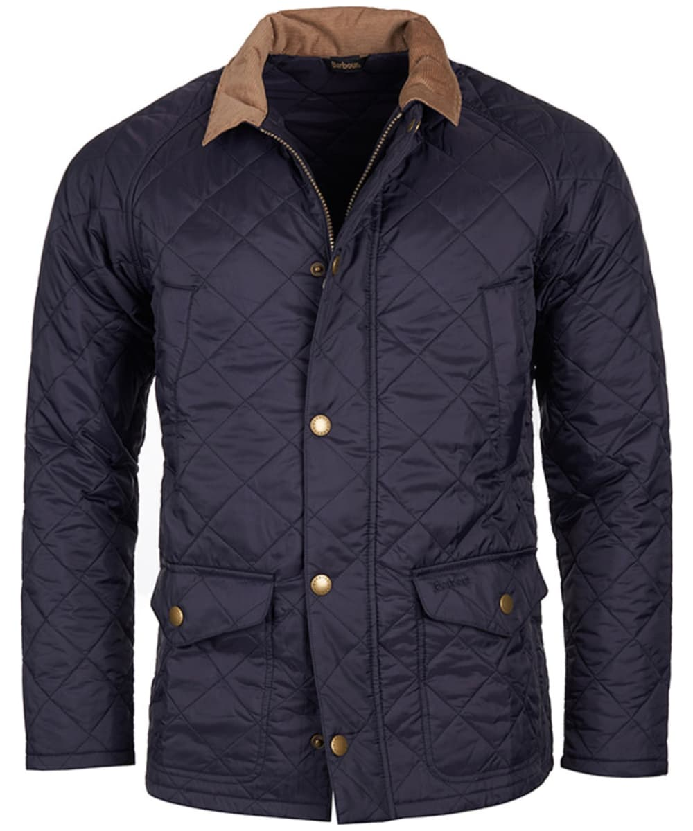 Men 39 s barbour canterdale quilted jacket for Quilted jackets for men