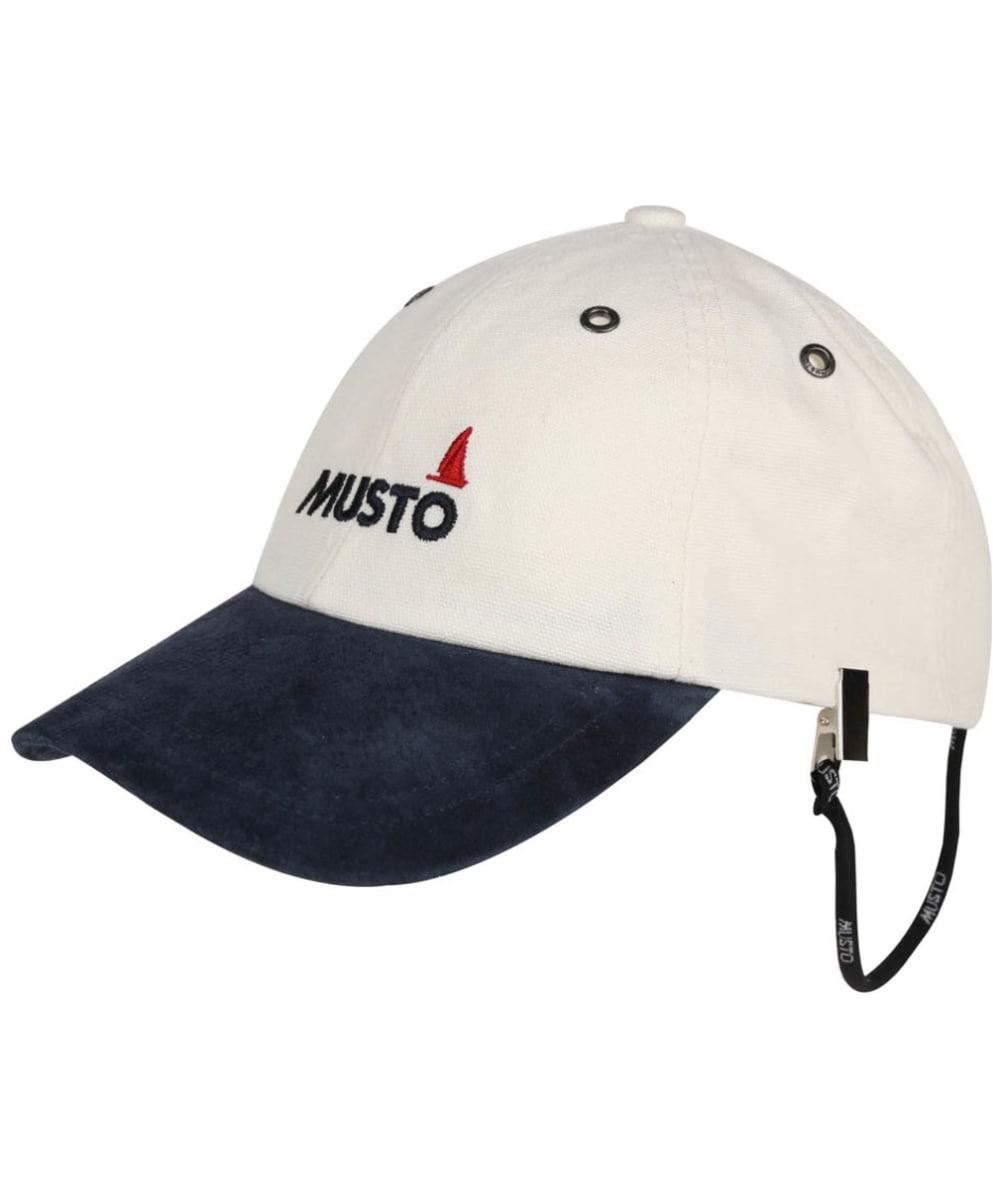 39a95f54 Musto Evolution Original Crew Cap - Antique Sail White