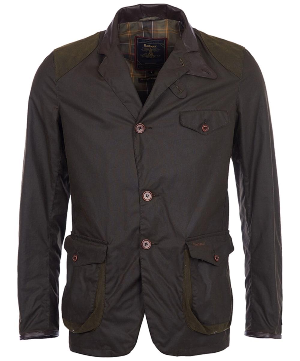 f5fb7dd71c046 Men's Barbour Beacon Sports Jacket - Olive