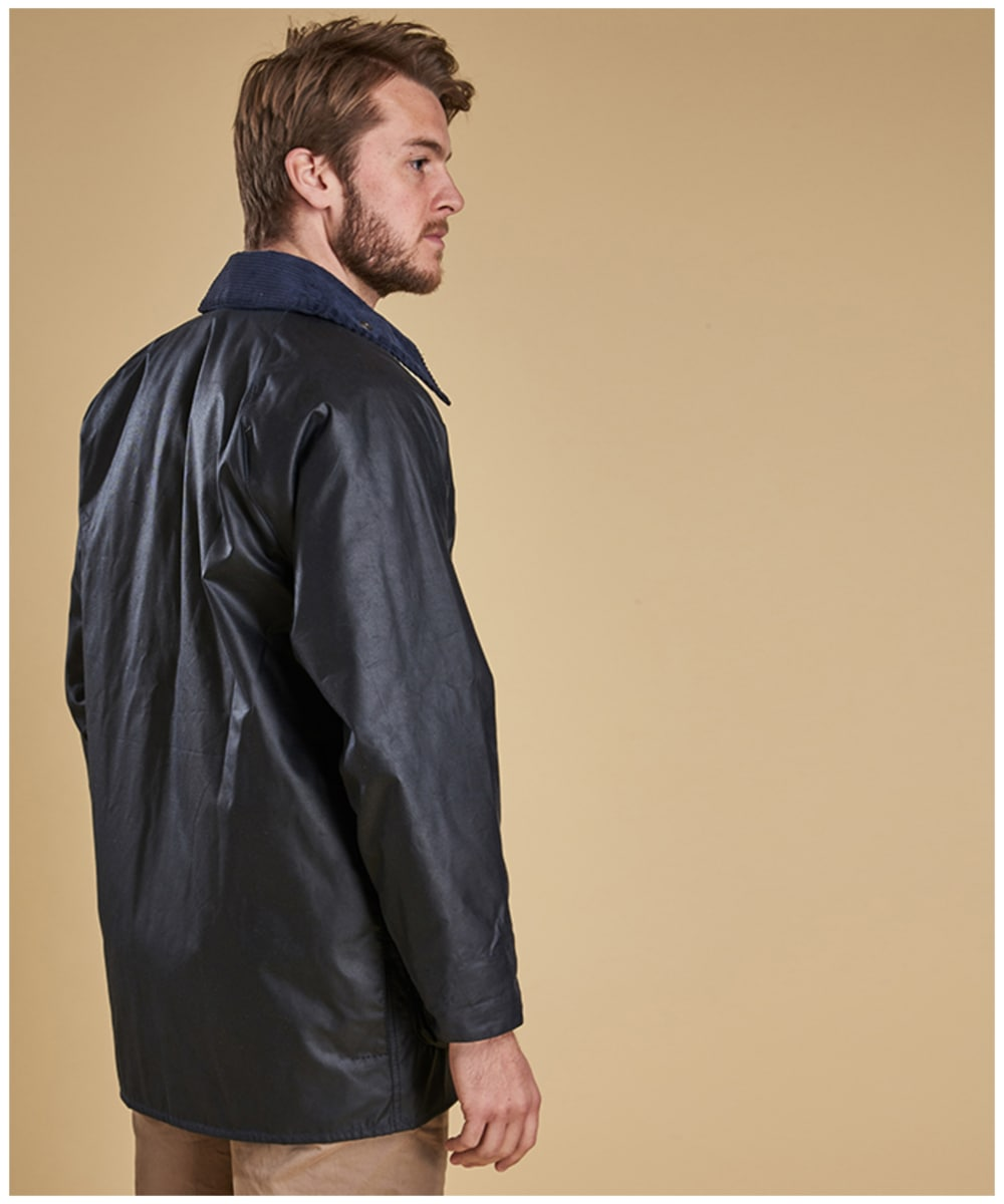 eb38a353069 ... Barbour Beaufort Jacket -Navy ...