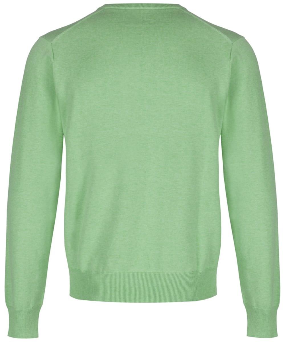 701770a3f5 ... Men's GANT Lightweight Cotton V - Neck - Light Pistachio Melange ...