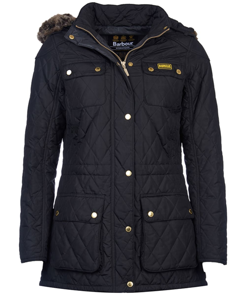 4586b4775 Women's Barbour International Enduro Quilt - Black