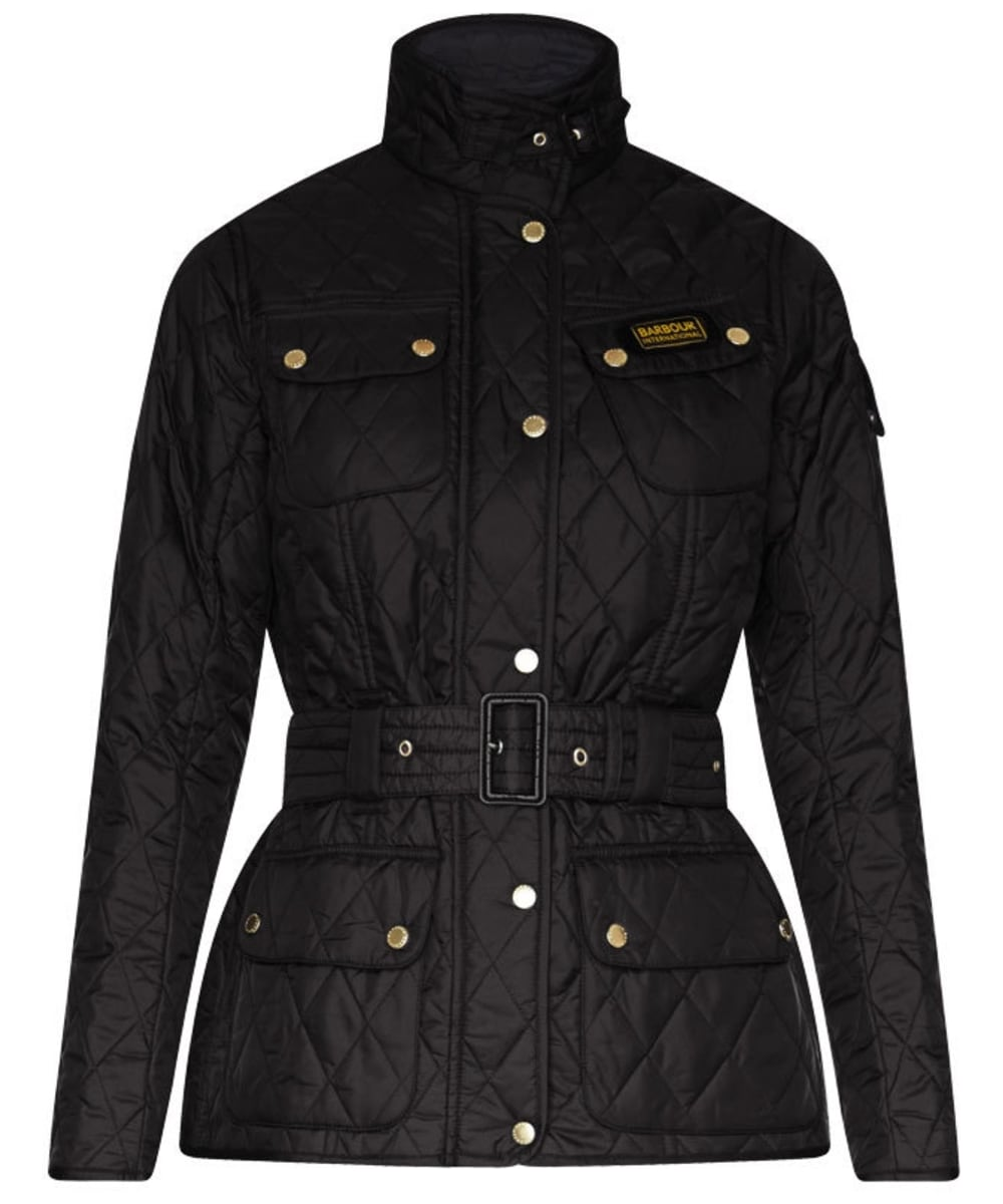 barbour black jacket