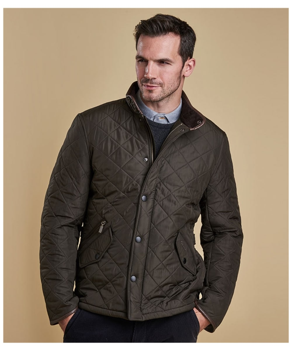 Men S Barbour Powell Quilted Jacket