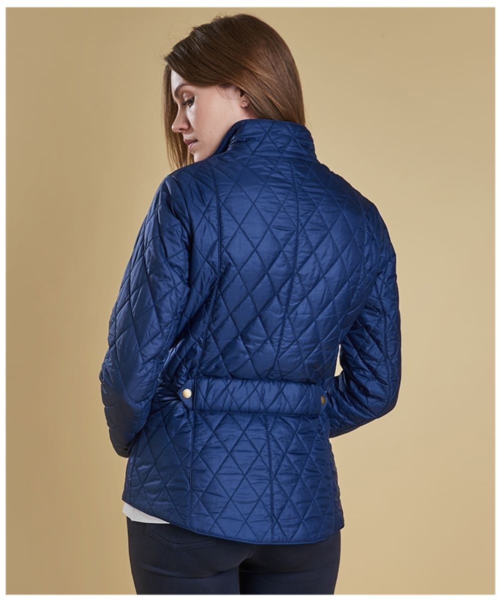 Women S Barbour Flyweight Cavalry Quilted Jacket
