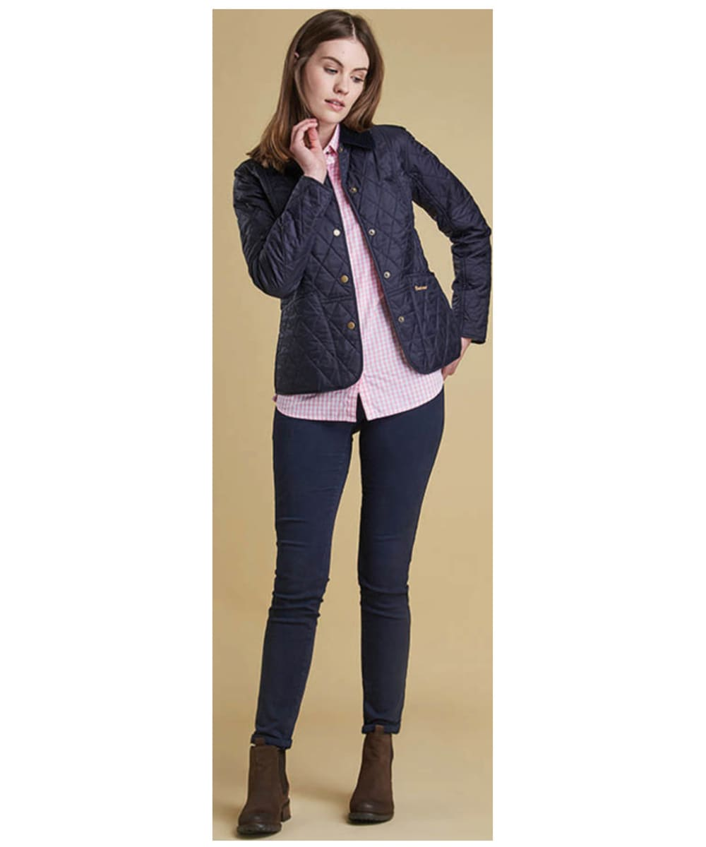 Womens Barbour Summer Liddesdale Quilted Jacket