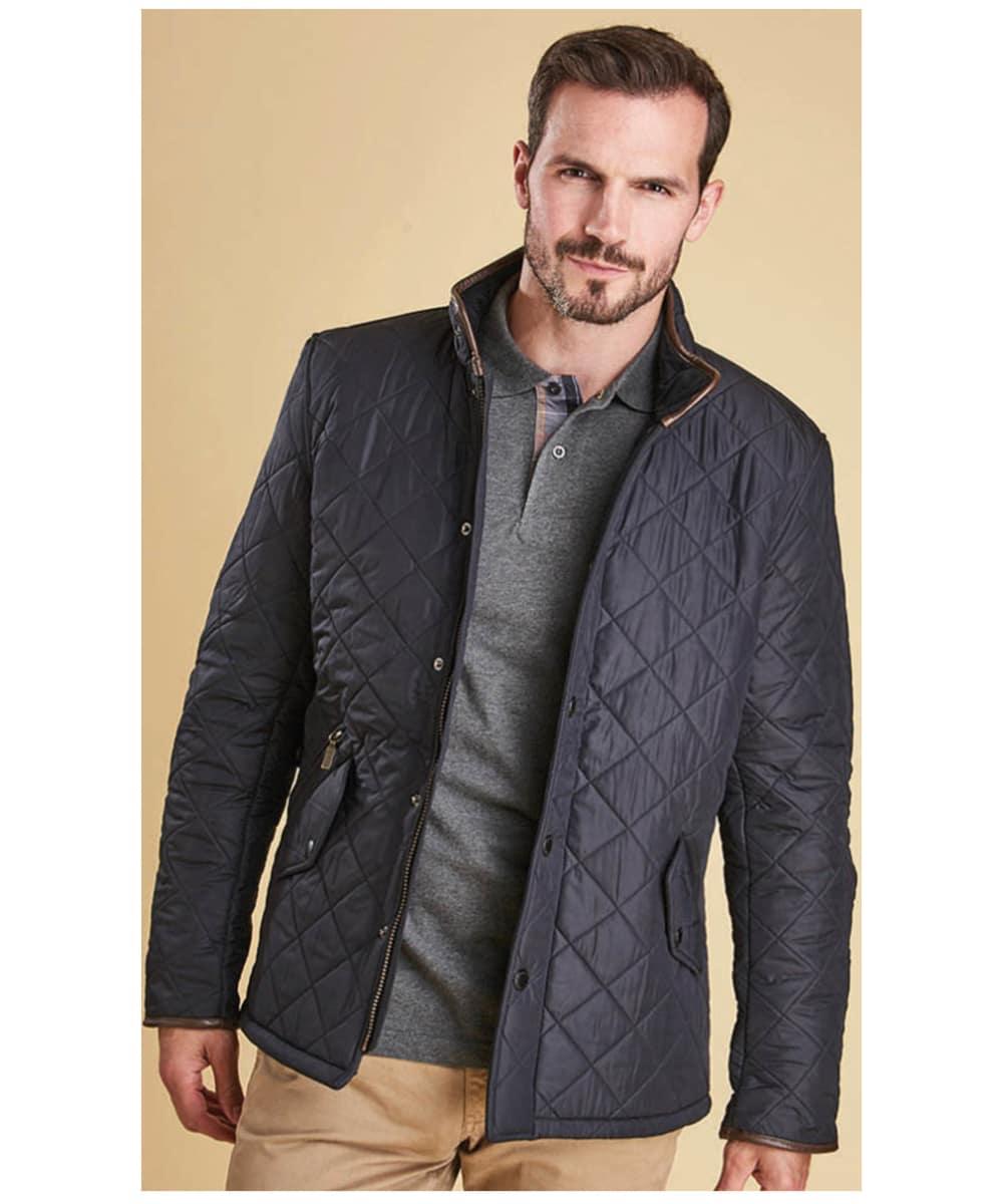 mineral Blåsa upp Överdriven  Men's Barbour Powell Quilted Jacket