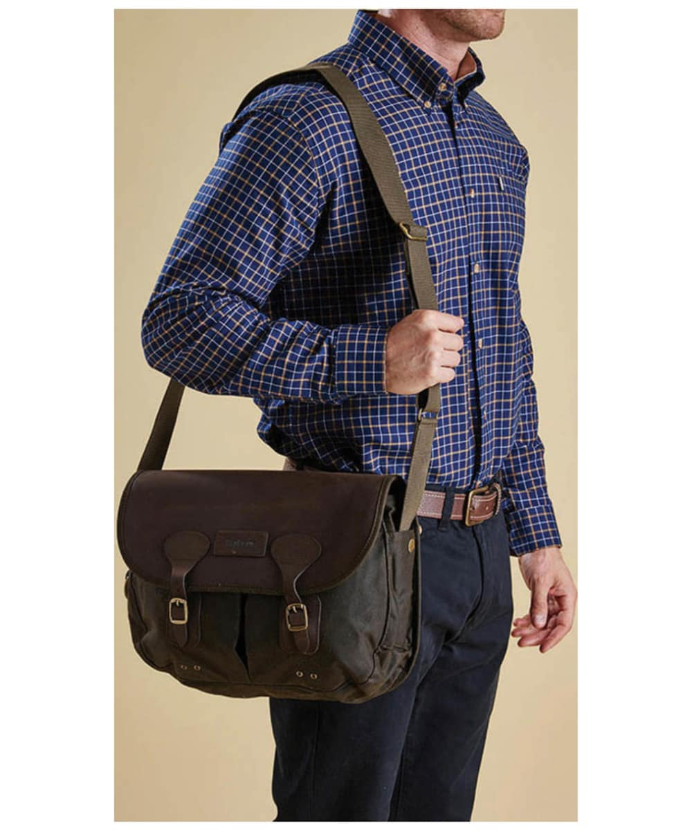 Barbour Wax And Leather Tarras Bag