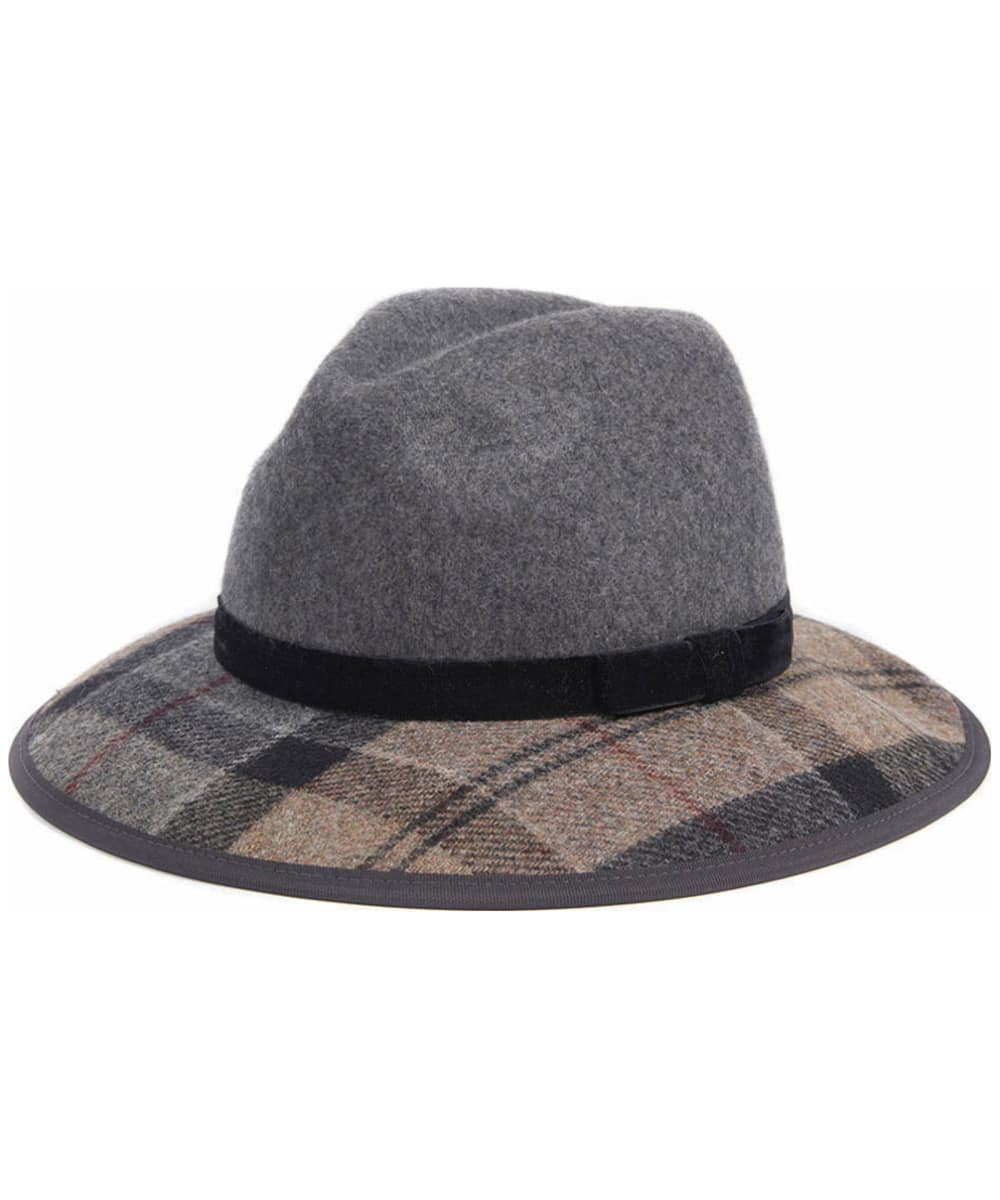 Women s Barbour Thornhill Fedora Hat - Grey   Winter 8e8b1d4436d