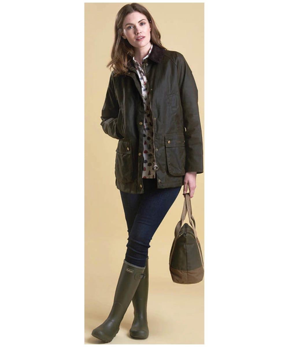 Women S Barbour Acorn Wax Jacket