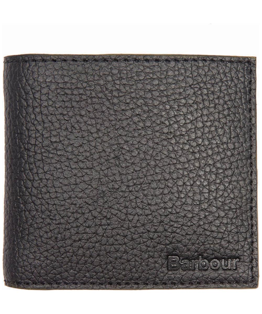 5c0ac23d Men's Barbour Leather Billfold Wallet - Black