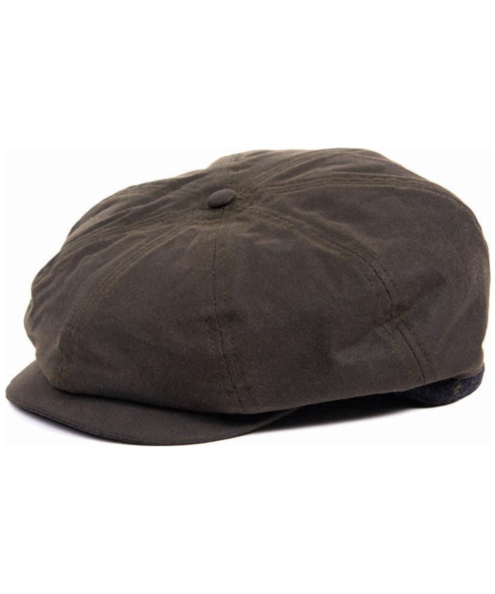 ... Men s Barbour Guillemot Baker Boy Hat - Olive   Classic Tartan ... eaaafe9a8ed
