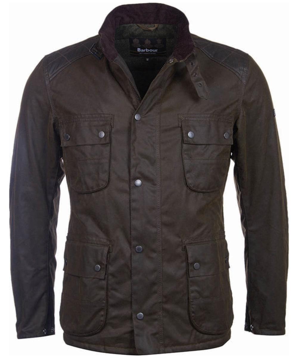 Men S Barbour International Weir Wax Jacket