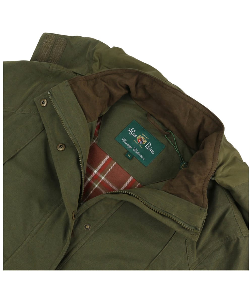 298d1b355df96 ... Women's Alan Paine Dunswell Waterproof Coat - Olive