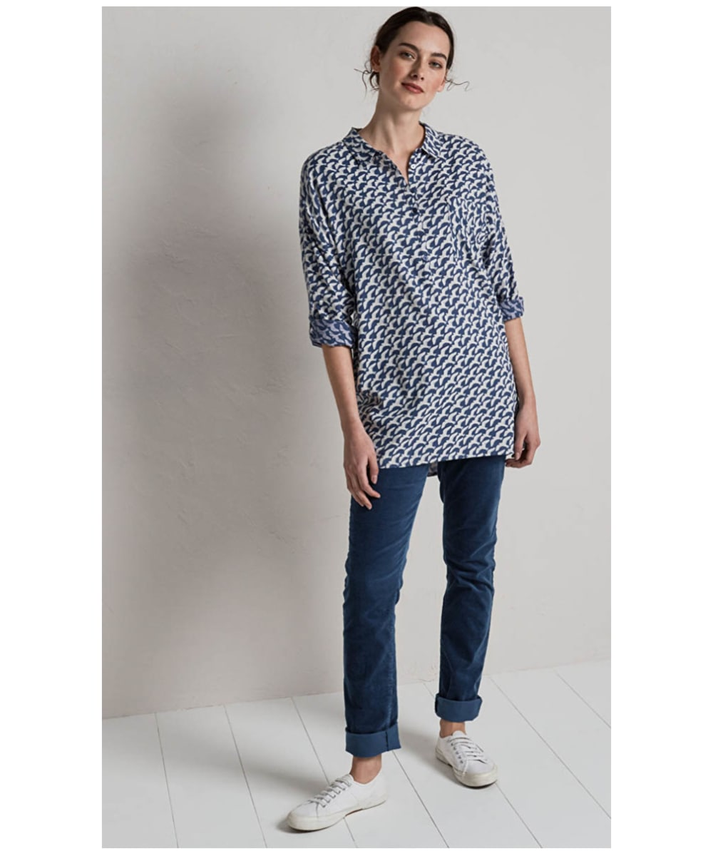 204a1724cfd9cd ... Women's Seasalt Polpeor Tunic - Deco Gulls Voyage ...