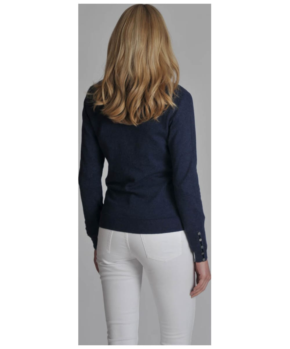 Women's Schoffel Cotton Cashmere V Neck Sweater