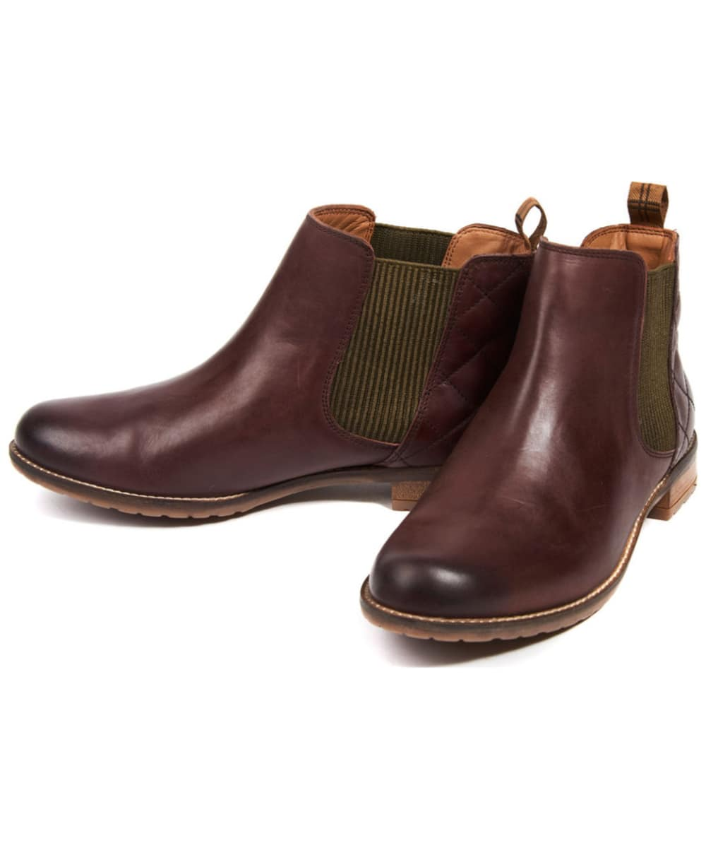 273c63da8523 ... Women s Barbour Abigail Chelsea Boot - Wine