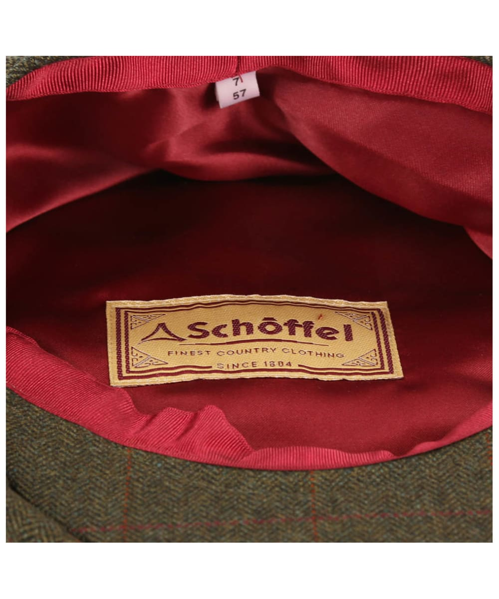 7a6deb0f2d0 ... Men s Schoffel V8 Tweed Cap - Windsor Tweed