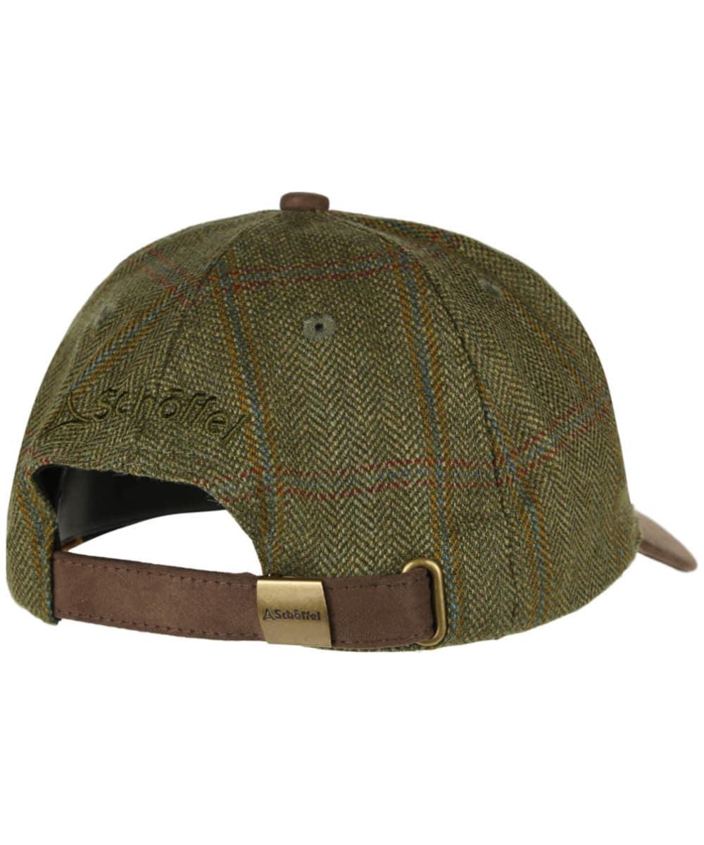 246de607 ... Men's Schöffel Tweed Baseball Cap - Sandringham Tweed ...