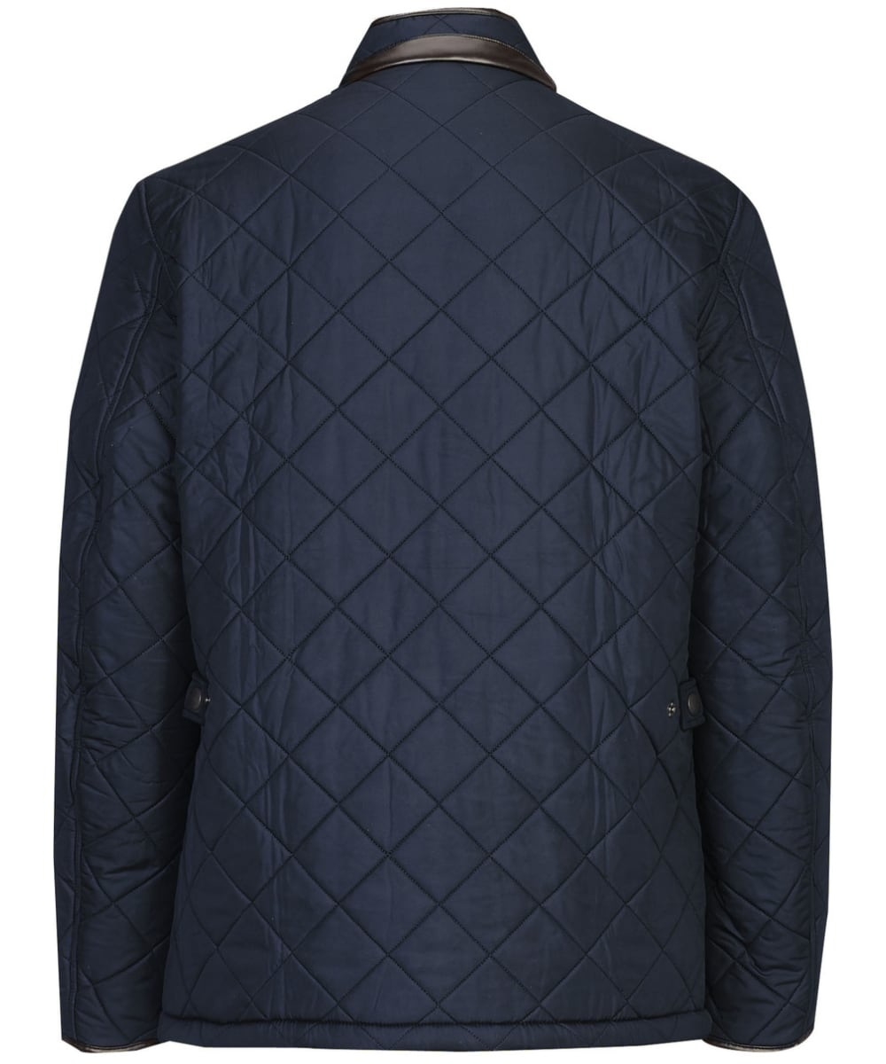 718a793bef53 ... Men s Barbour Powell Quilted Jacket - Navy ...