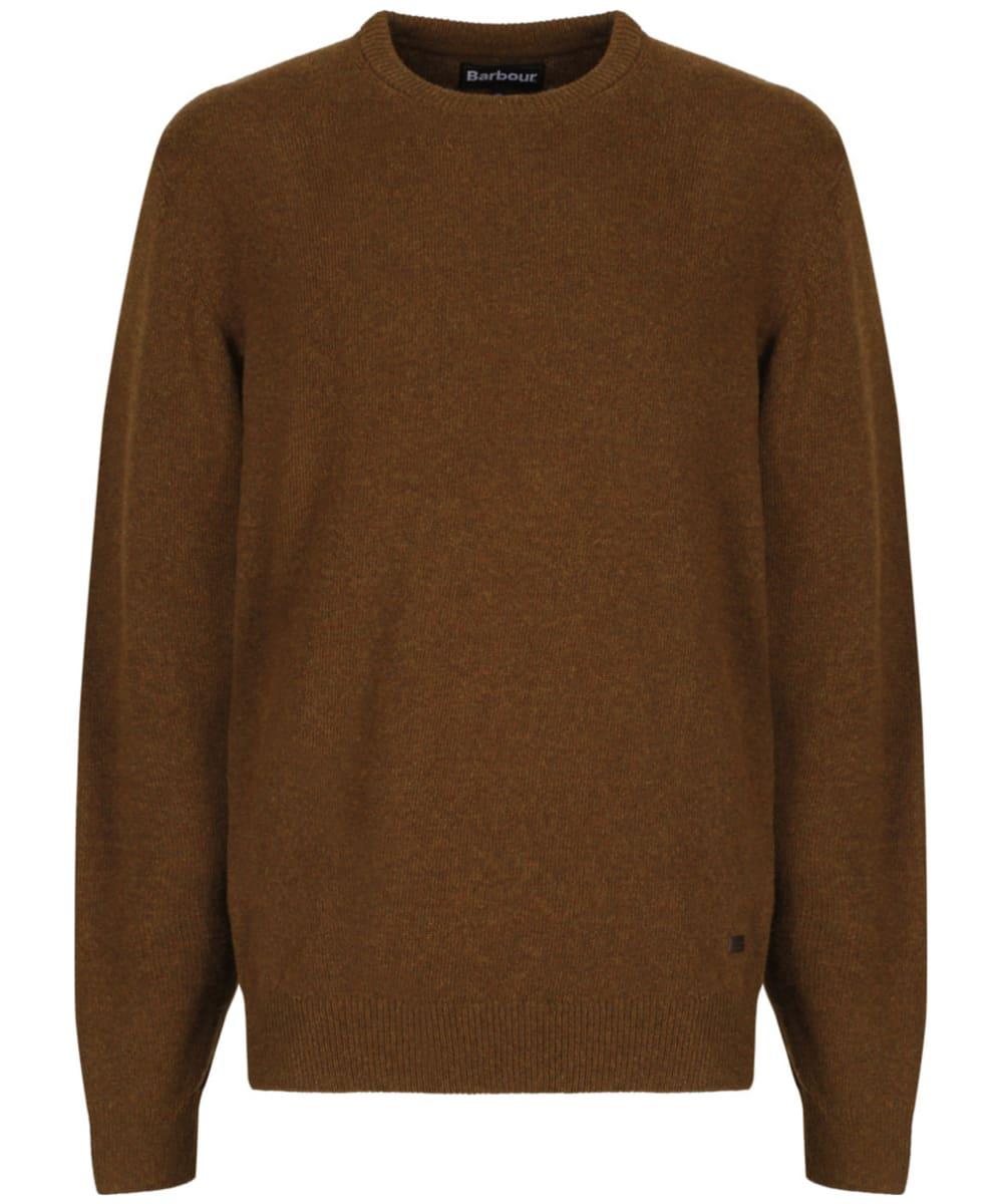Men's Barbour Patch Crew Neck Lambswool Sweater