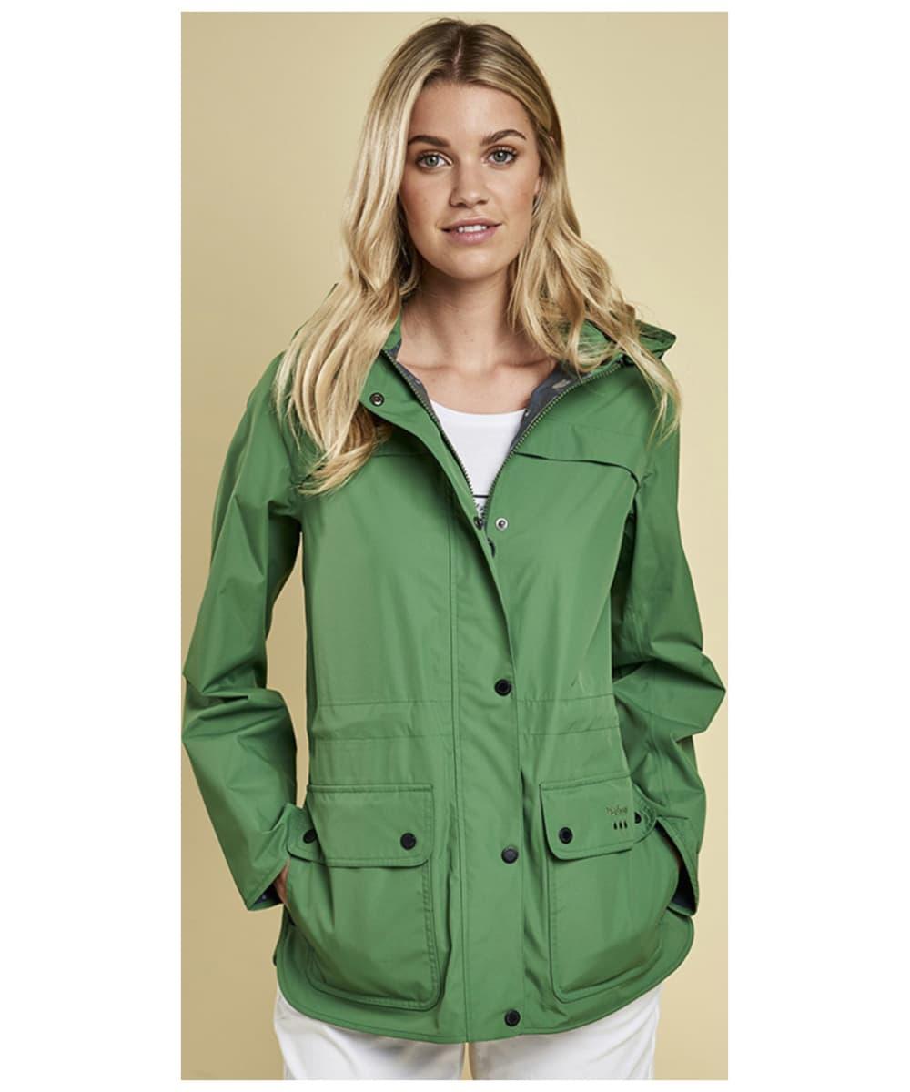 Womens Barbour Barometer Waterproof Jacket Signal Conditioner Clover