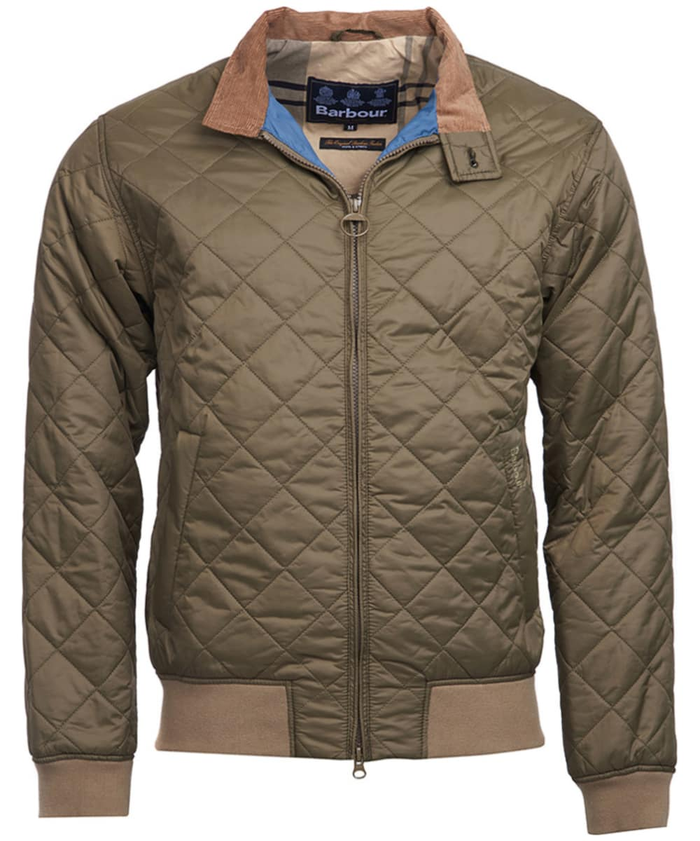 ca324e720e292 Men s Barbour Bates Quilted Jacket - Clay