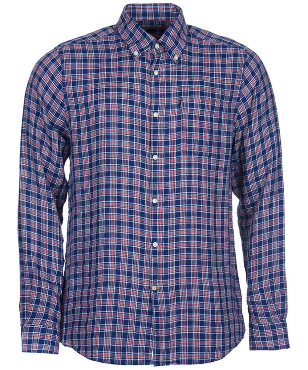 c0968133914 ... Men s Barbour Felix Tailored Fit Shirt - Navy Check ...