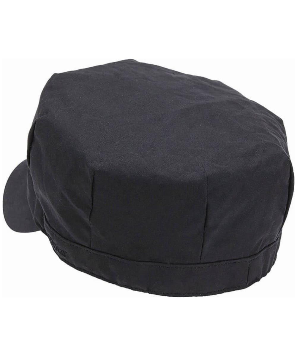 ... Women s Barbour Waxed Cotton Baker Boy Hat - Black ... 09a5f4cb1a0