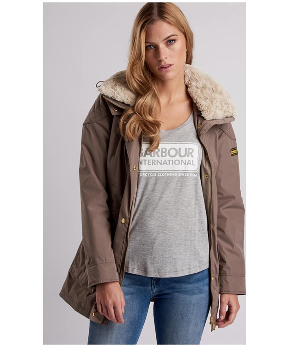 c7ddc686687 Women's Barbour International Garrison Waterproof Jacket