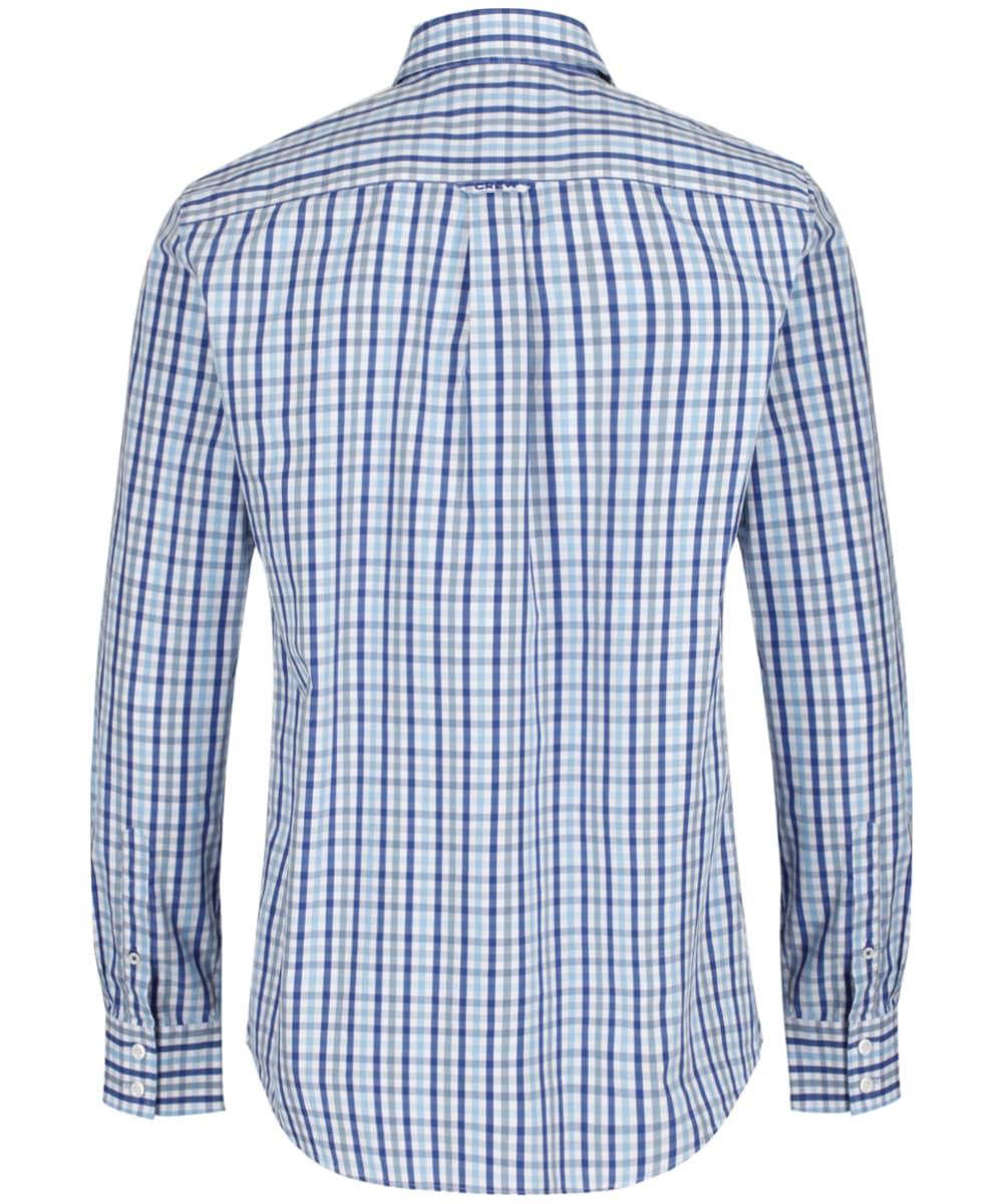 dc343f89769 ... Men s Crew Clothing Classic Gingham Shirt - Sky   Blue   Ultramarine ...
